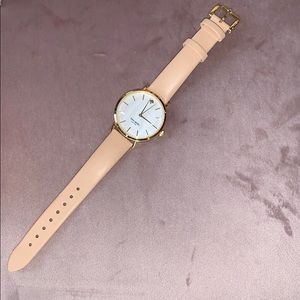 Kate Spade Nude leather strap watch!